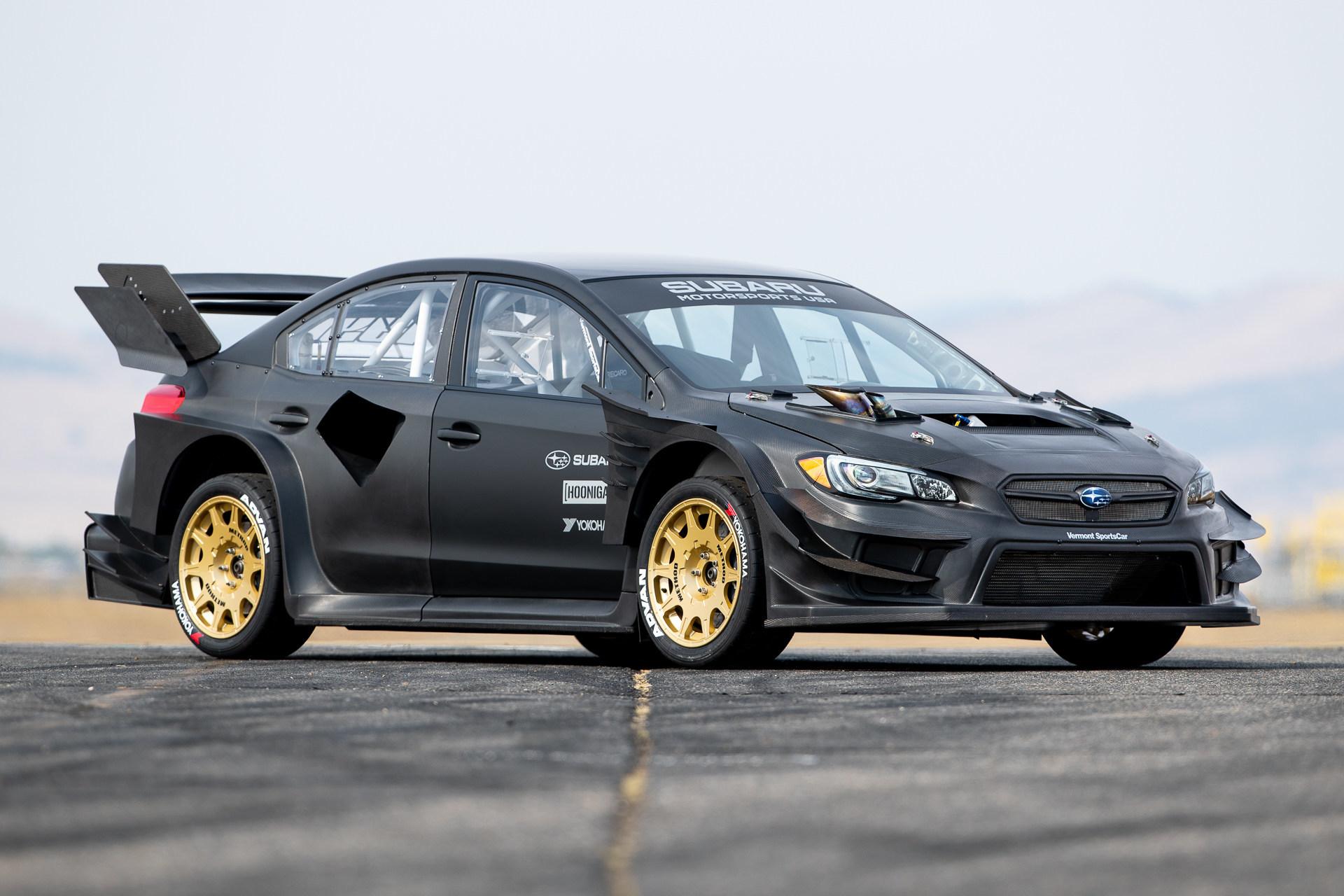 Subaru Reveals The Wildest WRX STI Ever - Travis Pastrana's Gymkhana STI