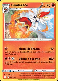 Carta Cinderace Pokémon