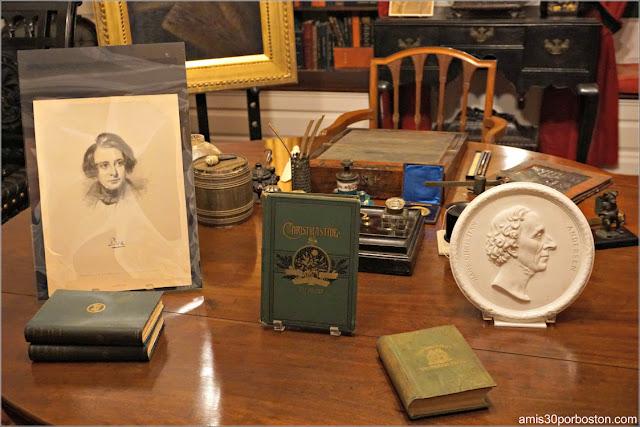 Estudio de Henry Longfellow en el Interior de su Casa Museo