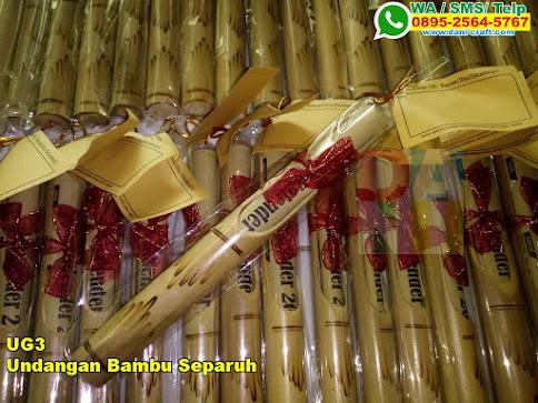 Toko Undangan Bambu Separuh