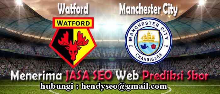 prediksi skor watford vs manchester city