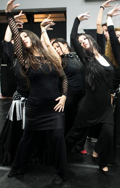 Clases de Árabe Flamenco y Flamenco Oriental con Mónica Tello