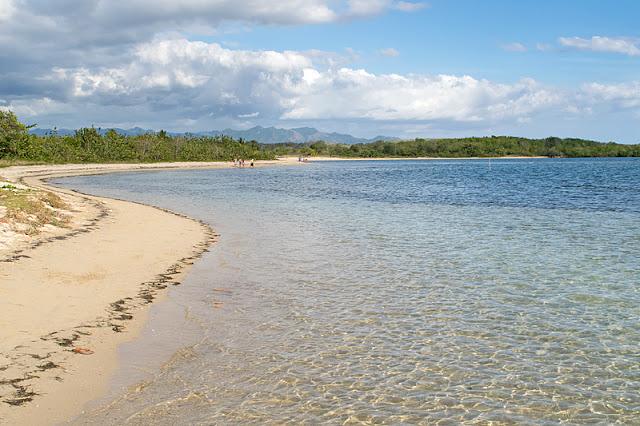 La plage de Playa Rancho Luna