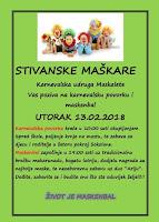 maškare karneval Sutivan slike otok Brač Online