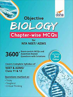 Disha Objective Biology  Chapterwise MCQs For NEET