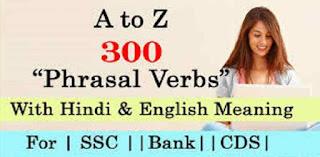 Phrasal Verb English to Hindi