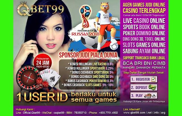 Situs Agen SportsBook Online Terpercaya QBet99