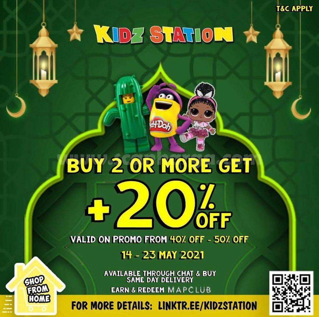 Promo Kidz Station Spesial Lebaran Diskon 40 - 50%