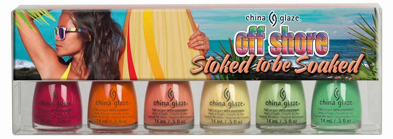 China Glaze Stoked To Be Soaked