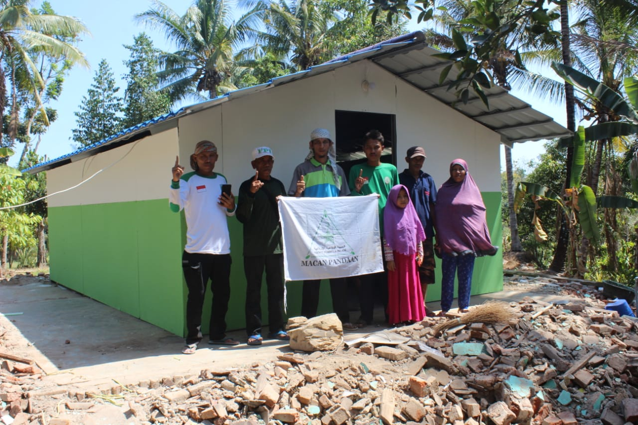 Sudah Bangun 9 Rumah Hilmi Fpi Lanjutkan 200 Di Untuk Korban Gempa Lombok