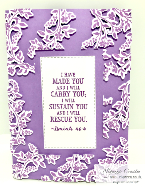 Cross of Hope Stampin' Up!