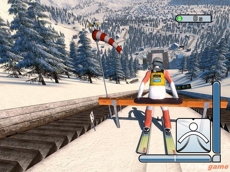 Ski Jump Games Online
