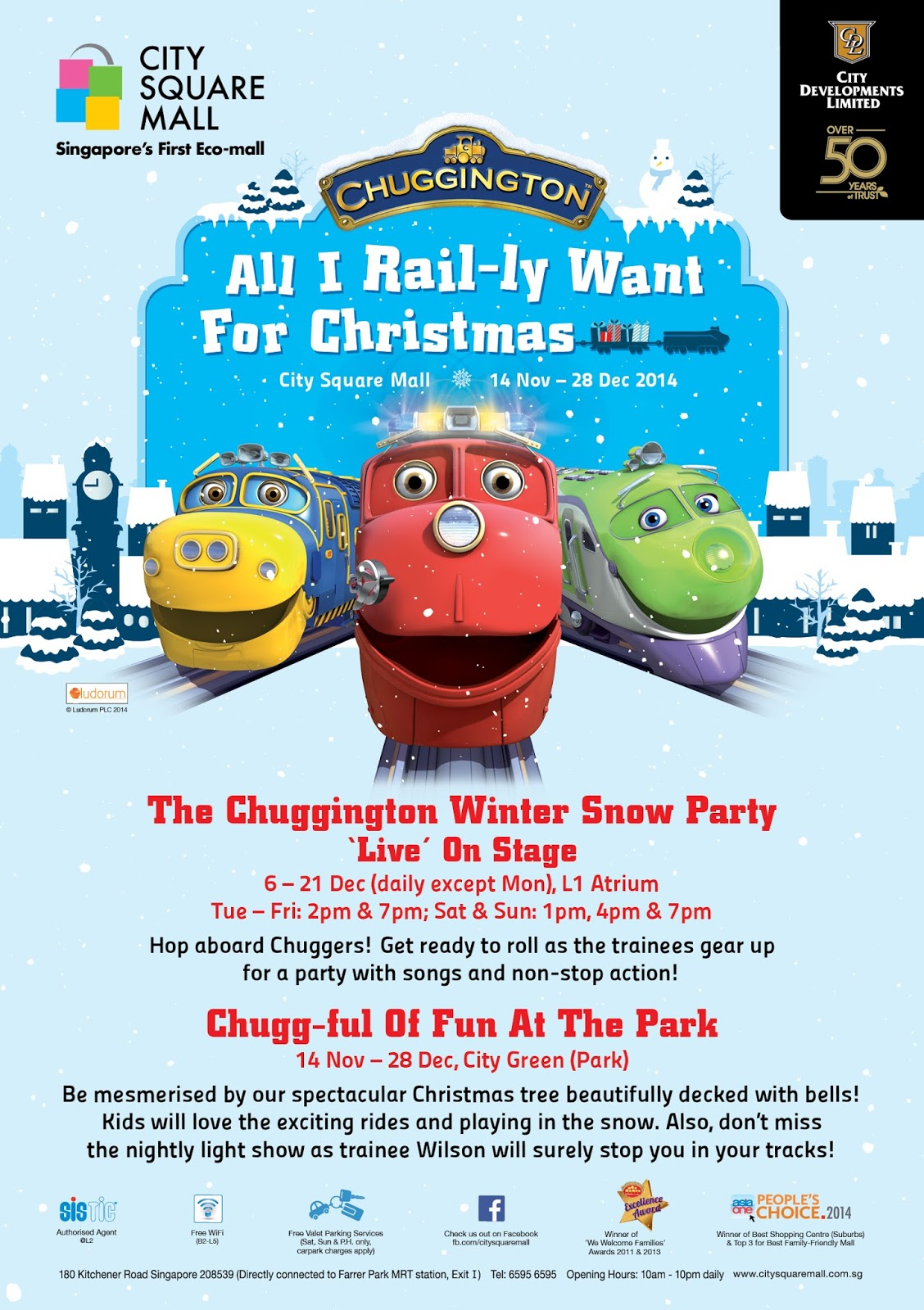 fd2fe62272 Chuggington - All I Rail-ly Want For Christmas
