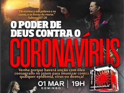 """""""Jair Bolsonaro ajoelhou-se ontem com um grupo de pastores e um deles profetizou que, a partir daquele instante, ninguém mais morreria de Covid-19 porque o Brasil estava abençoado por Deus e por Jair Bolsonaro."""" https://www.oantagonista.com/brasil/o-novo-messias/?desk  Seria hilário, se não fosse trágico, ver o mundo lutando contra uma pandemia que hoje (6) ultrapassou a barreira dos 70 mil mortos e, ao mesmo tempo, ver o presidente do Brasil boicotar medidas tomadas pelo SEU ministro da Saúde e se juntar a um bando de charlatões para fazer demagogia barata dentro do Palácio do Planalto, que pertence aos brasileiros, independente da confissão religiosa de cada um.  Pra completar, ontem à noite o Psicopata voltou a ameaçar Luiz Henrique Mandetta de demissão. Não vai demitir, não agora, é covarde demais pra isso.  É estarrecedor!"""