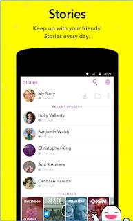 Snapchat Latest APK V10.13.1.0 Stories