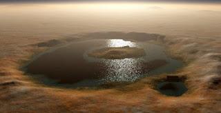 وجود مياه على كوكب المريخ