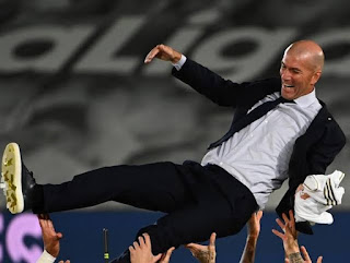 Reveale: Zinedine Zidane now the  longest-serving Real Madrid manager under Florentino Perez