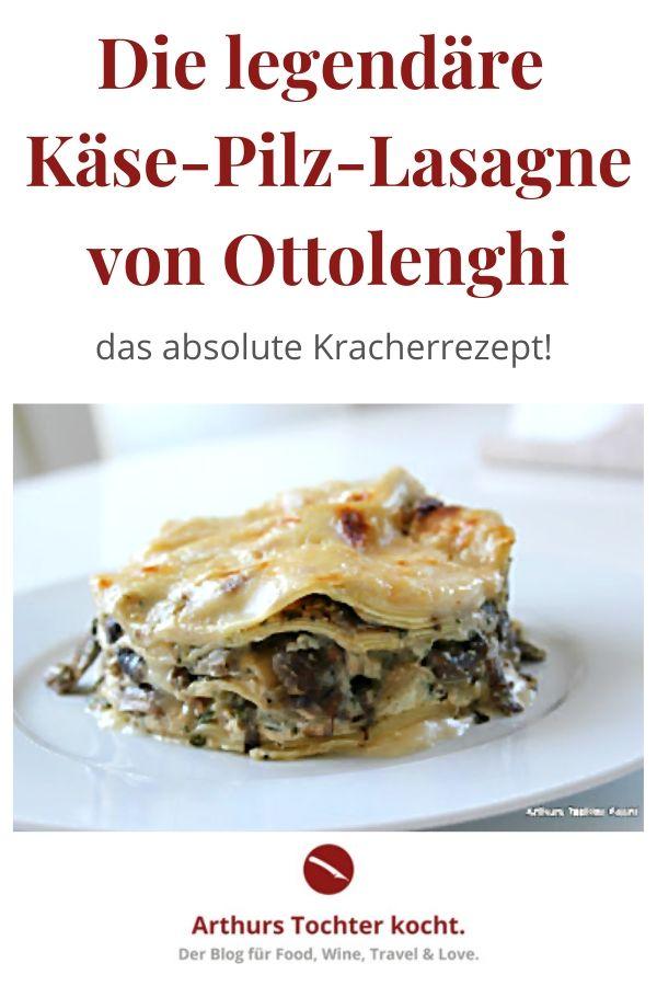 """Knallerrezept von Ottolenghi für vegetarische Pilz-Käse-Lasagne aus dem Kochbuch """"Genussvoll vegetarisch"""" #ottolenghi #vegetarisch #käse #pilze #pasta #nudeln #backofen #einfach #klassisch #italienisch #vegan #suppe #hackfleisch #gesund #ausgefallen #kalorienarm #spinat #chefkoch #lachs #ohne_bechamel #soße #beste"""