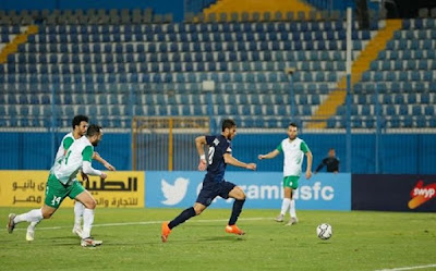 ملخص واهداف مباراة الاتحاد السكندري وبيراميدز (2-1) الدوري المصري