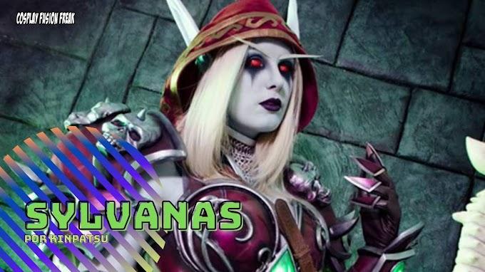 Kinpatsu con su cosplay de Sylvanas