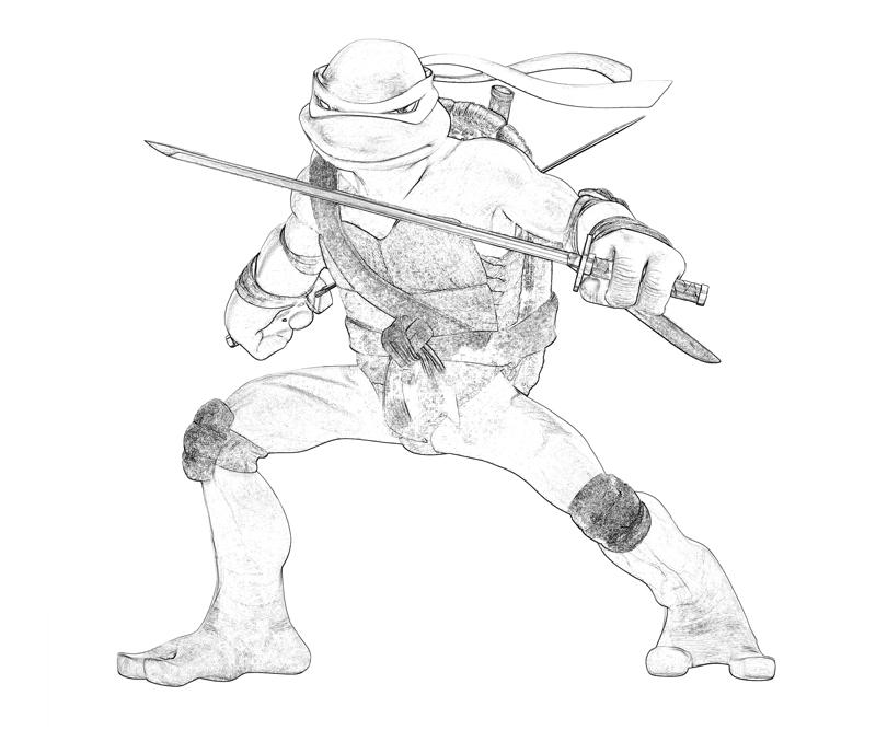 leo tmnt coloring pages - photo#16