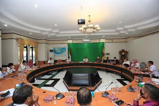 Rapat High Level Meeting Triwulan Ke II Pengendalian Inflasi Daerah TPID Kota Tarakan
