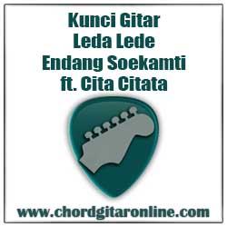 Chord Leda Lede Endank Soekamti Ft. Cita Citata