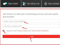 Cara Dapat Uang $25 Gratis dari Yougov Survey Online Berbayar