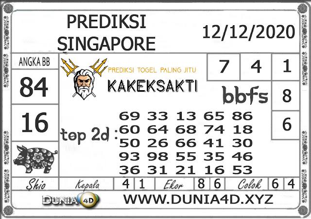 Prediksi Togel SINGAPORE DUNIA4D 12 DESEMBER 2020