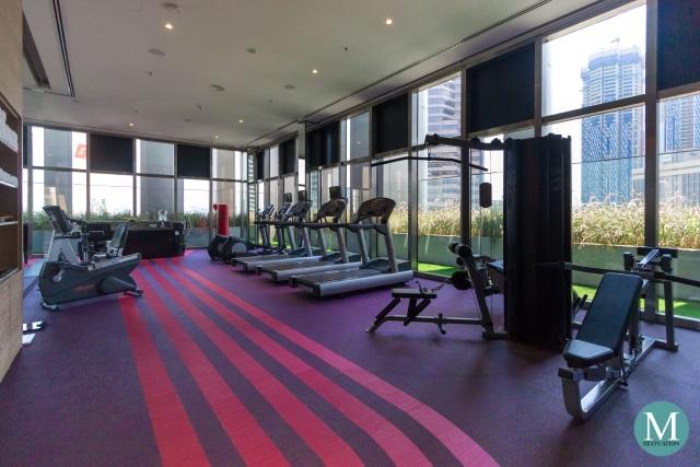 fitness gym at W Hotel Kuala Lumpur