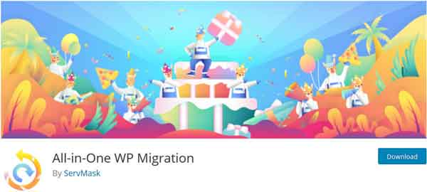 1) All-In-One WP Migration (Free)
