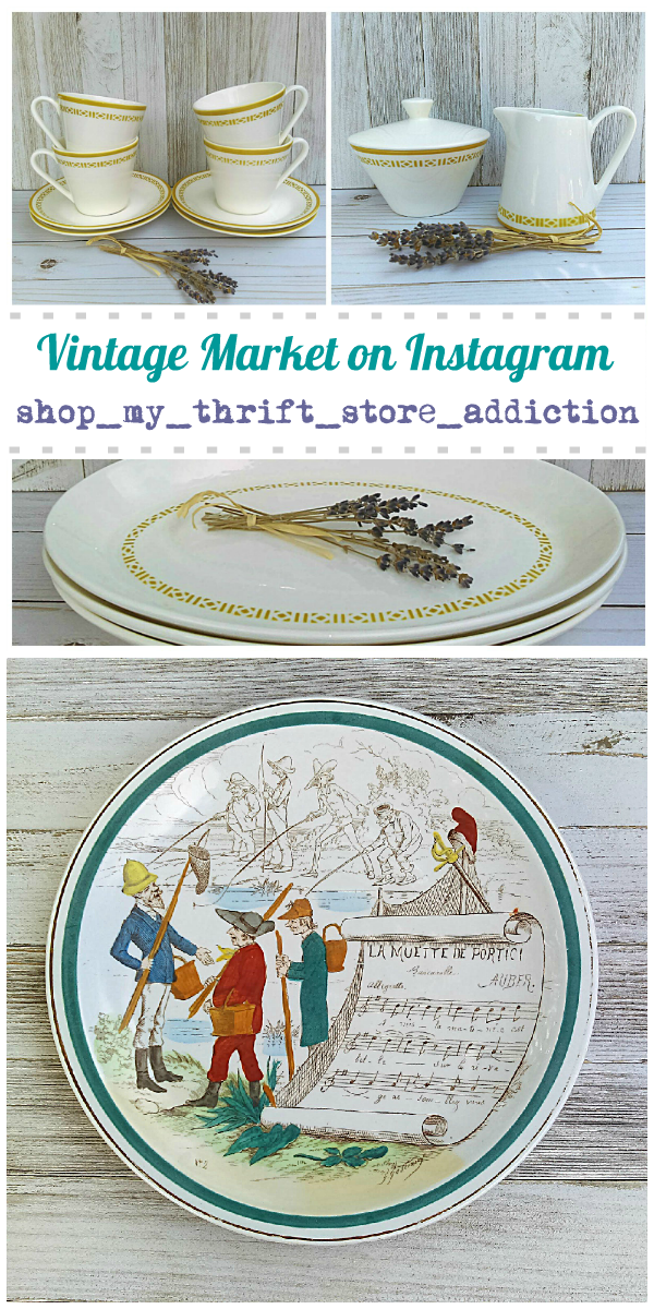 Shop My Thrift Store Addiction Vintage Market