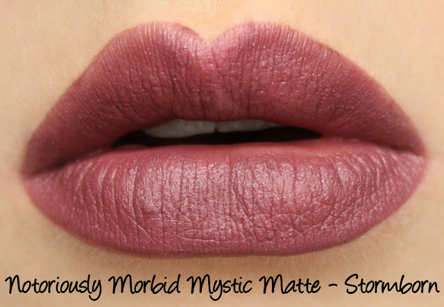Notoriously Morbid Stormborn Mystic Matte Swatches & Review