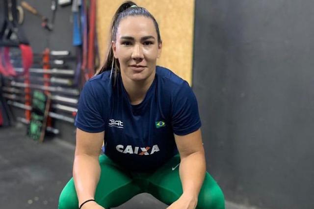 Fernanda Borges está fora da Olimpíada de Tóquio