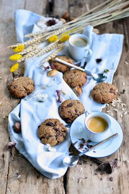Cookies crousti-sablés au chocolat !