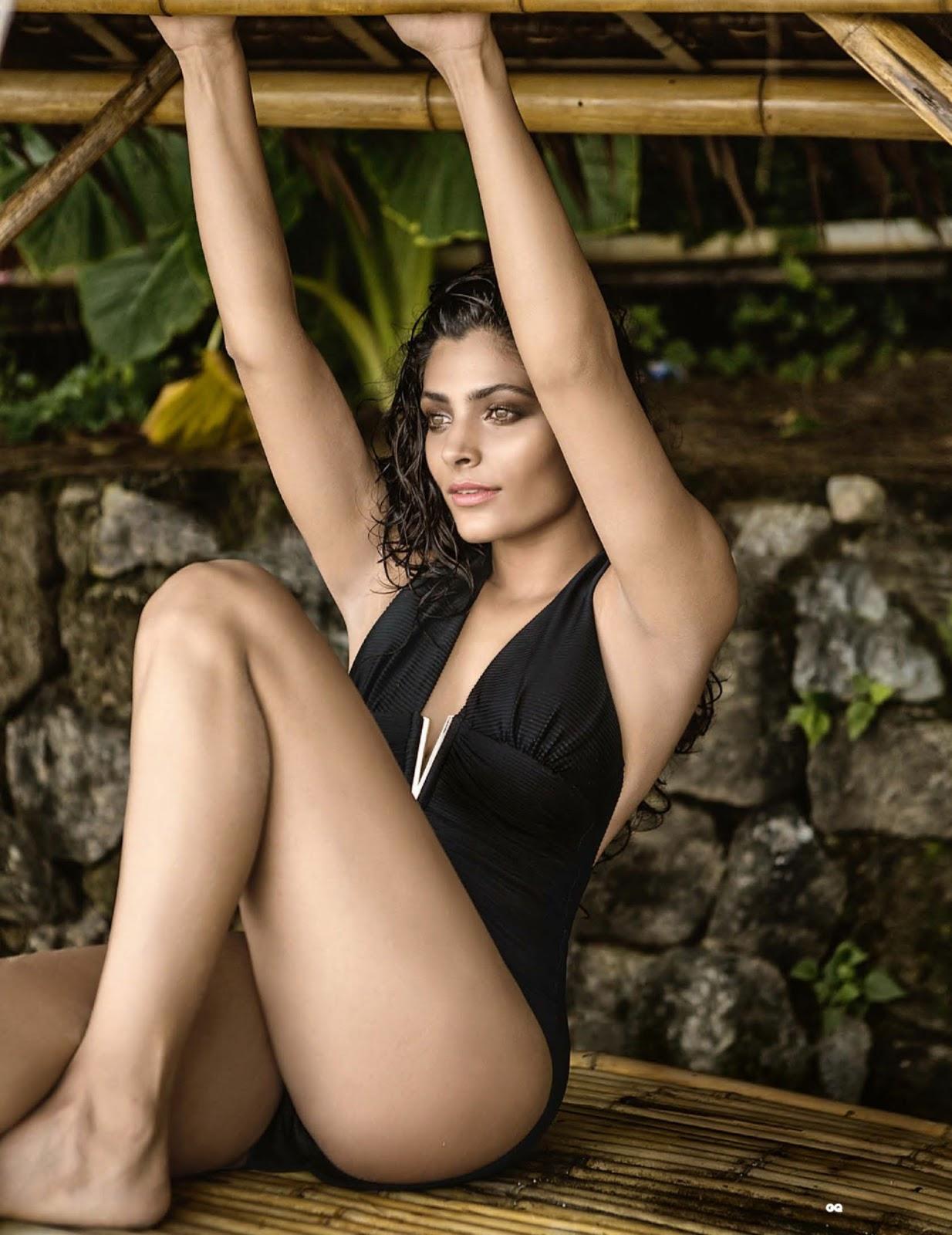 Bharatbytes: Saiyami Kher Photoshoot for Vogue India Jan 2017