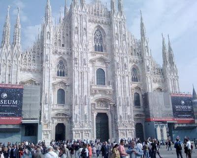 Những ngày ở Châu Âu- Ngày qua Milan