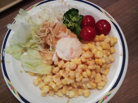 サラダ4 ステーキガスト一宮尾西店4回目