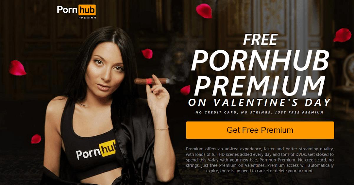 Pornhub premium free valentines day