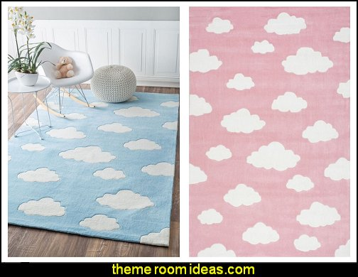 Cloud Kids Blue Rug Cloud Kids Pink Rug