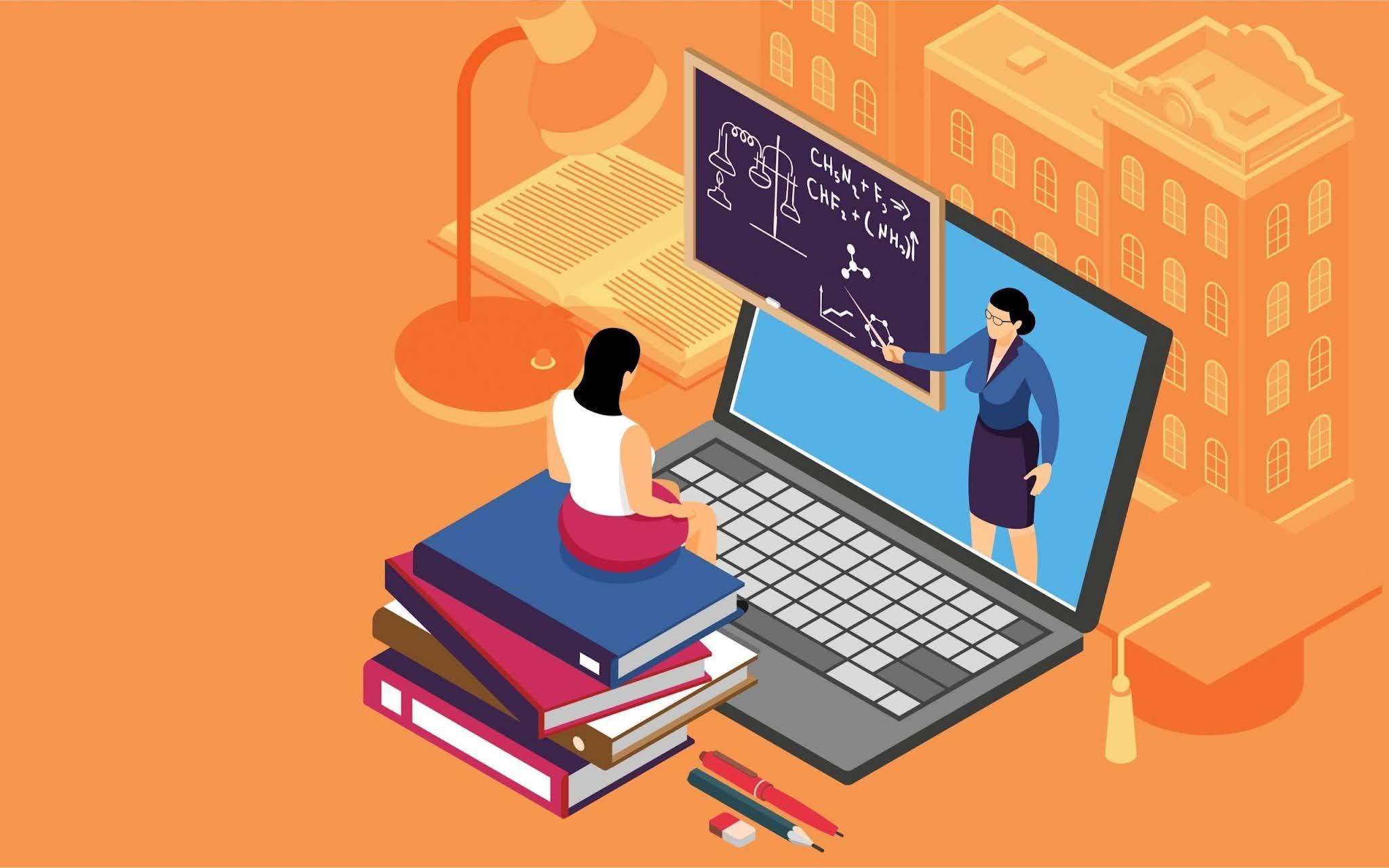 क्या विश्वविद्यालय के छात्र महामारी के बाद, ऑनलाइन अधिक पड़ना चाहते हैं ?
