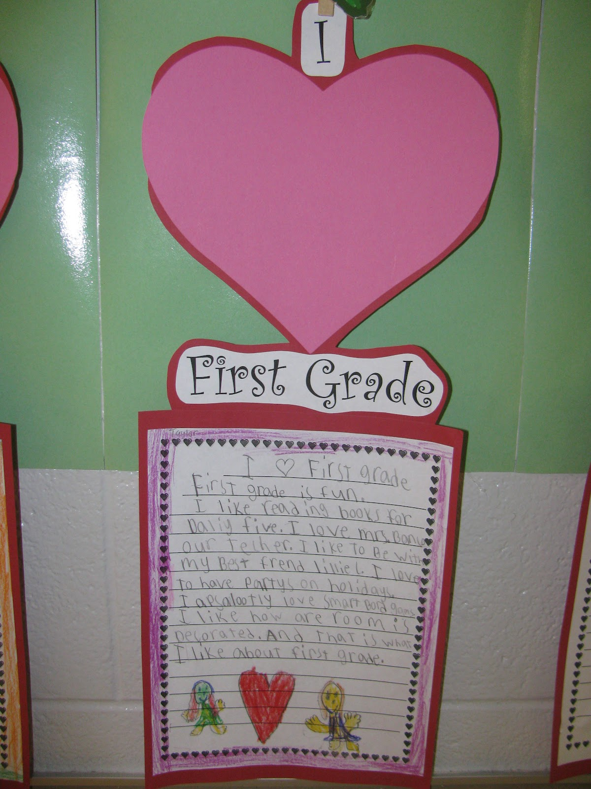 Simply Sweet Teaching I Heart 1st Grade Happy Valentine