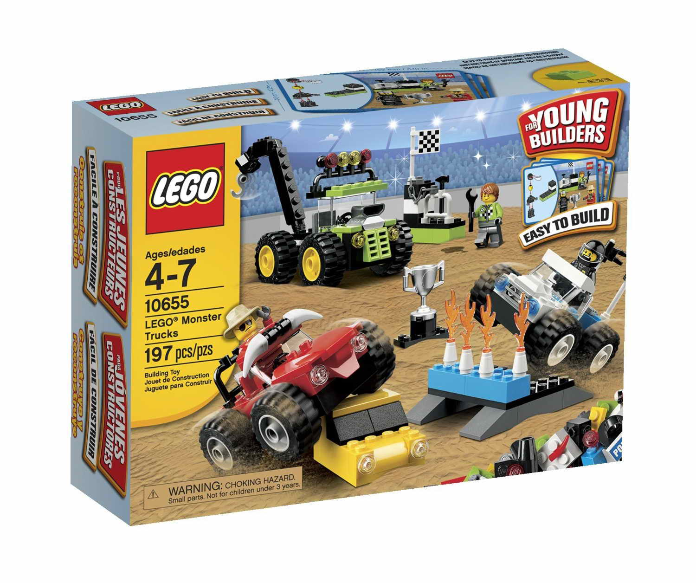 REPUBbLICk: set database: LEGO 10655 LEGO monster truck