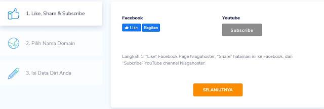Cara Daftar Web Hosting Gratis Indonesia