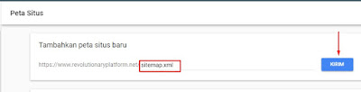 Mengirimkan Sitemap Blogger ke  Google Webmaster Tools