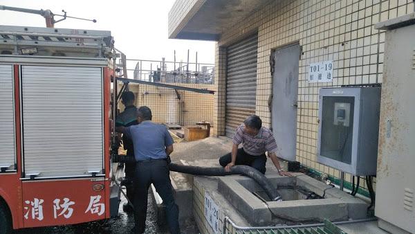 水情嚴峻彰化縣消防局超前部署 消防替代用水造冊納管