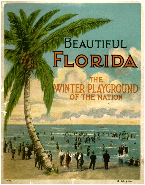 Florida vintage poster