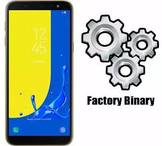 Samsung Galaxy J6 SM-J600GF Combination Firmware