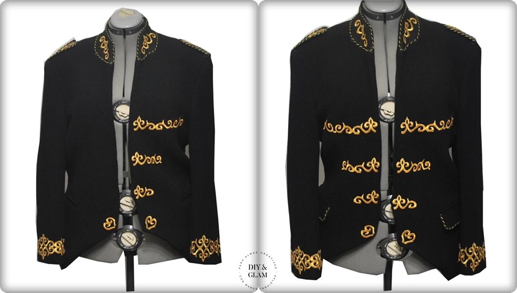 No te podrás quejar…. hemos transformado una chaqueta completamente sin  necesidad de coser absolutamente nada. 07a04b5dc3f1