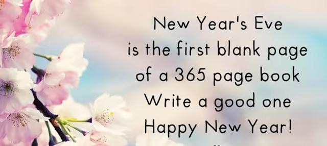 Resolutions we should make